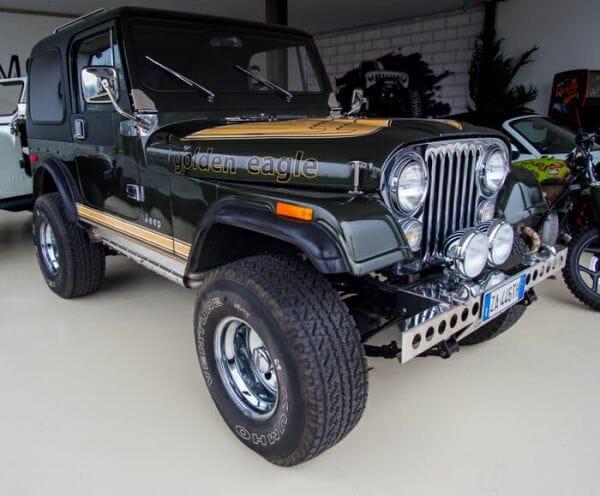 Golden Eagle Jeep